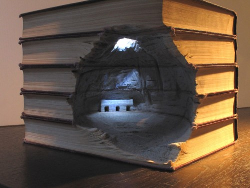 GUY LARAMEE Book Art 1