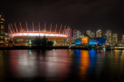 Vancouver Skyline from Olympic Village 2