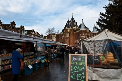 Amsterdam Dec 2011 market