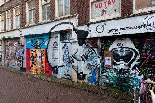 Amsterdam Dec 2011 graffiti 2