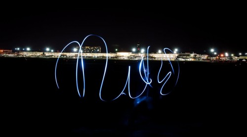 Light painting attempt