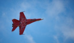 Abbotsford Airshow : 2017-08-13 : Canadian Forces CF-18 in Canada 150 Anniversary Colours