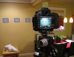 Nikon D800 Autofocus Test Setup