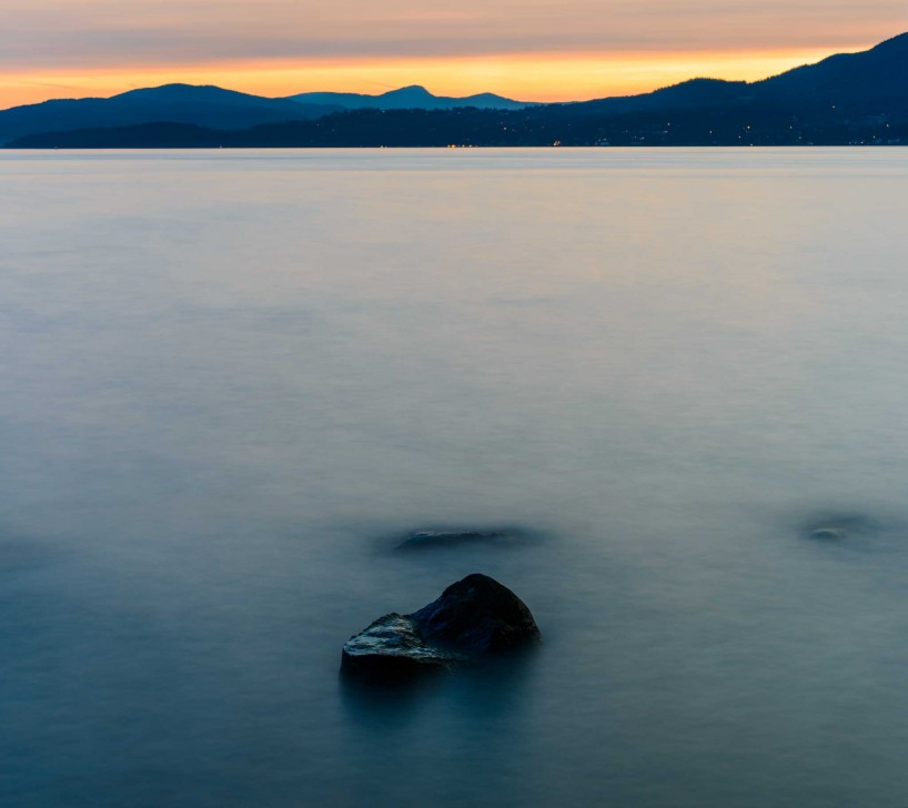 Vancouver : Siwash Rock Long Exposure Color : 2012-07-06