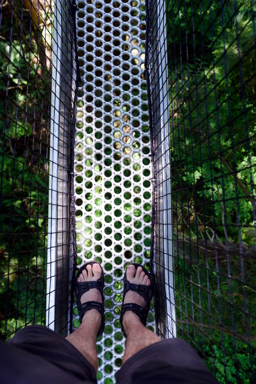 UBC Botanical Garden Feet