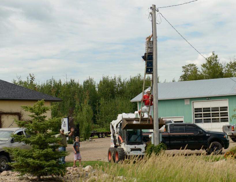 Alberta Visit Aug 2012 : Redneck Ingenuity