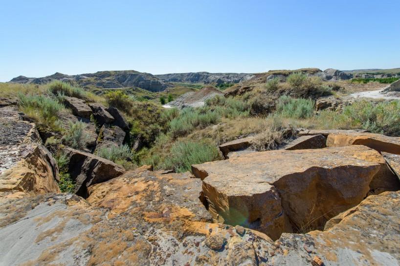 Alberta Visit Aug 2012 : Dinosaur Provincial Park Badlands Trail