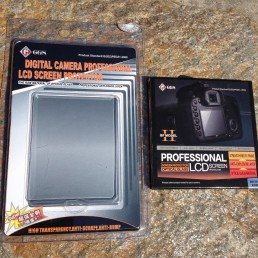 GGS Nikon D800 LCD Screen Protector - both packages