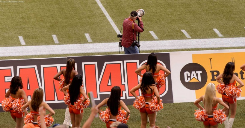 CFL Football : BC Lions vs Montreal Alouettes : Sept 8 2012 : Doing It Wrong