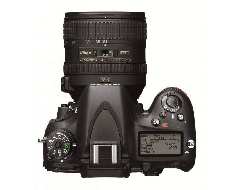 Nikon D600 Full Frame Camera : Top