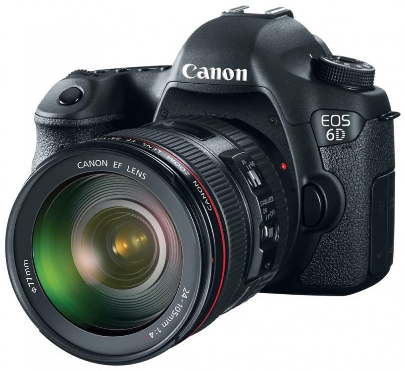 Canon 6D Full Frame Camera : Left Side