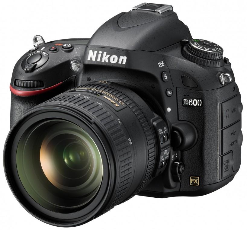 Nikon D600 Full Frame Camera : Left Side