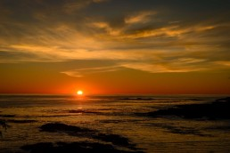Sunset Over the Pacific Ocean : Uclulet BC : 2012-10-07