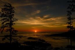 Ucluelet BC Vacation : 2012-10 : Big Beach Sunset 2