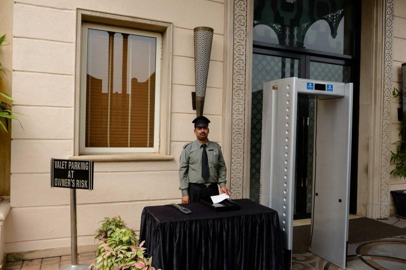 2012 Oct : Mumbai India Visit : Hotel Security