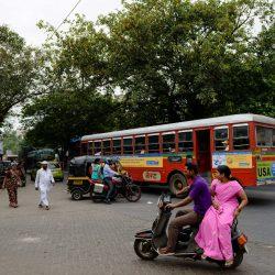2012 Oct : Mumbai India Visit : Scooter