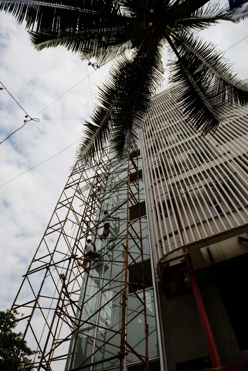 2012 Oct : Mumbai India Visit : Scaffolding