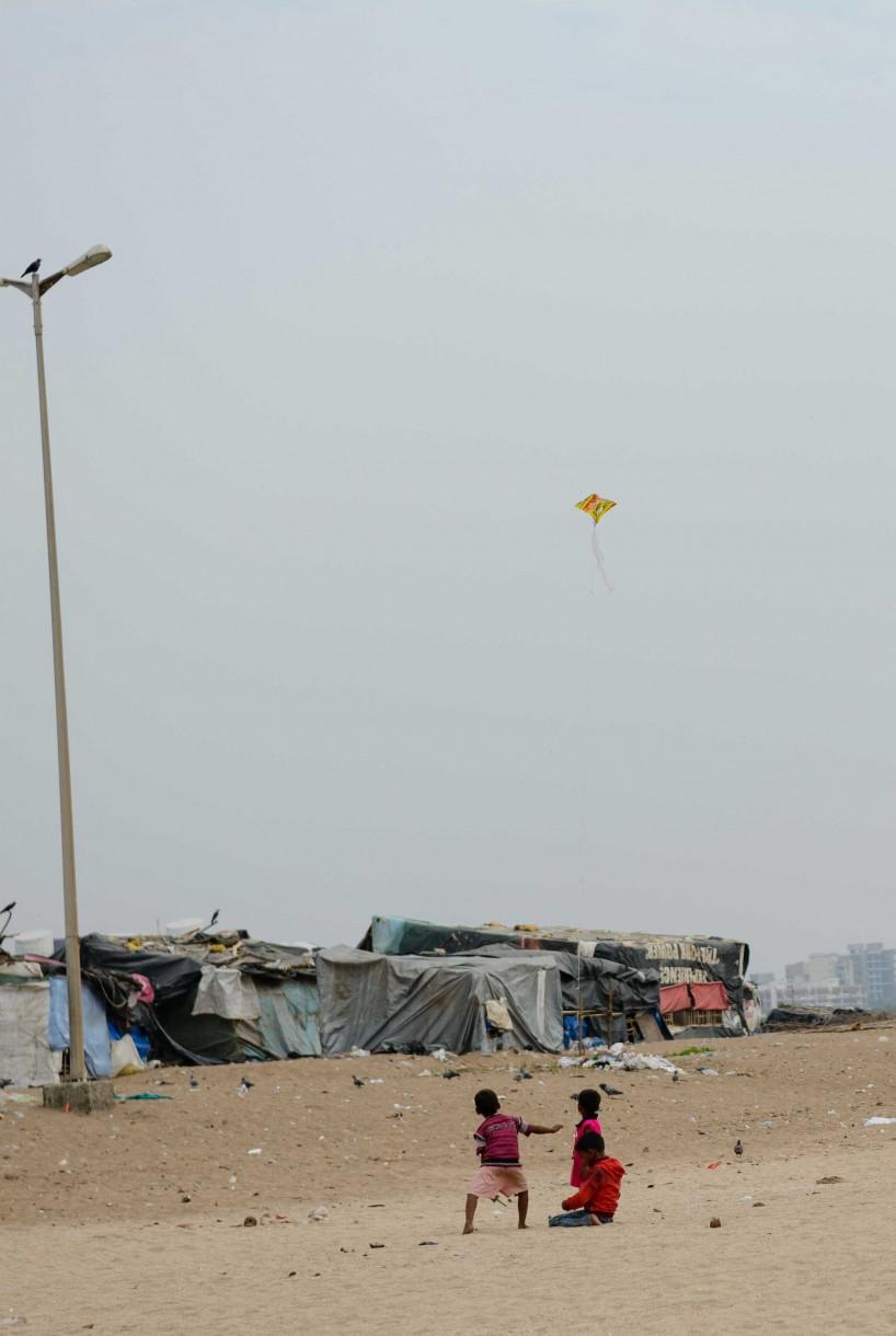 2012 Oct : Mumbai India Visit : Kids & Kite