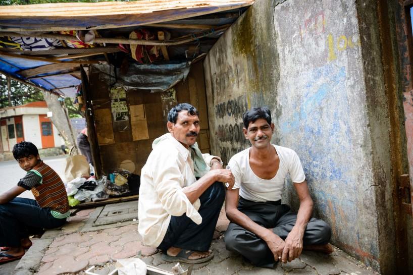 2012 Oct : Mumbai India Visit : Street Shave