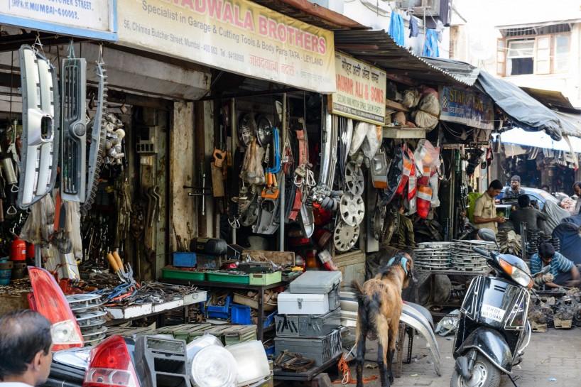 2012 Oct : Mumbai India Visit : Chor Bazaar