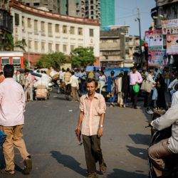 2012 Oct : Mumbai India Visit : Chor Bazaar People Watching
