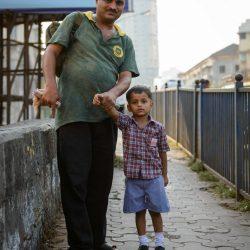 2012 Oct : Mumbai India Visit : Dad With Son