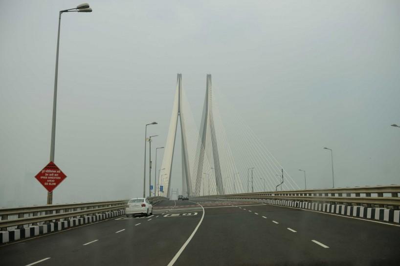 Oct 2012 : Mumbai Visit : Bandra–Worli Sea Link / Rajiv Gandhi Sea Link