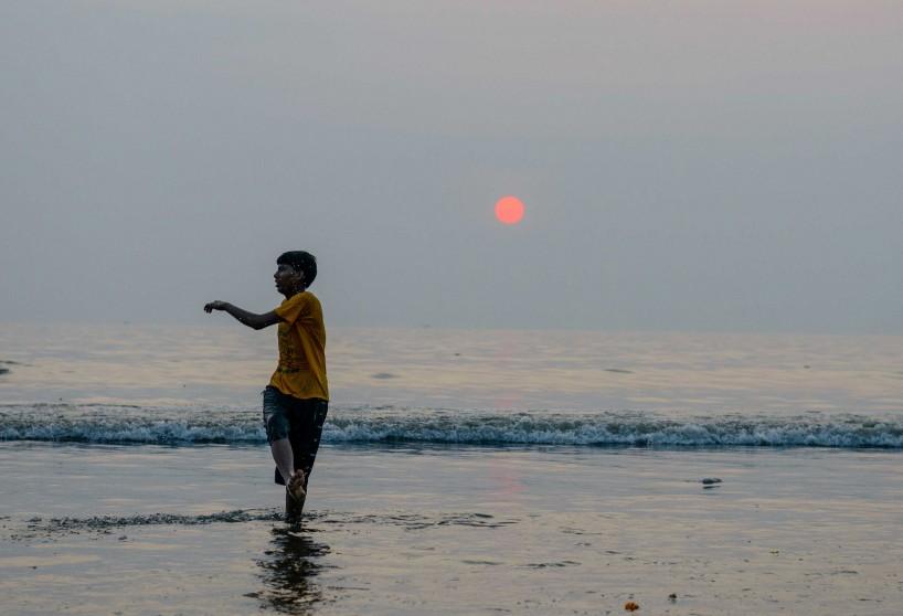 Oct 2012 : Mumbai Visit : Vijayadashami Festial Sunset