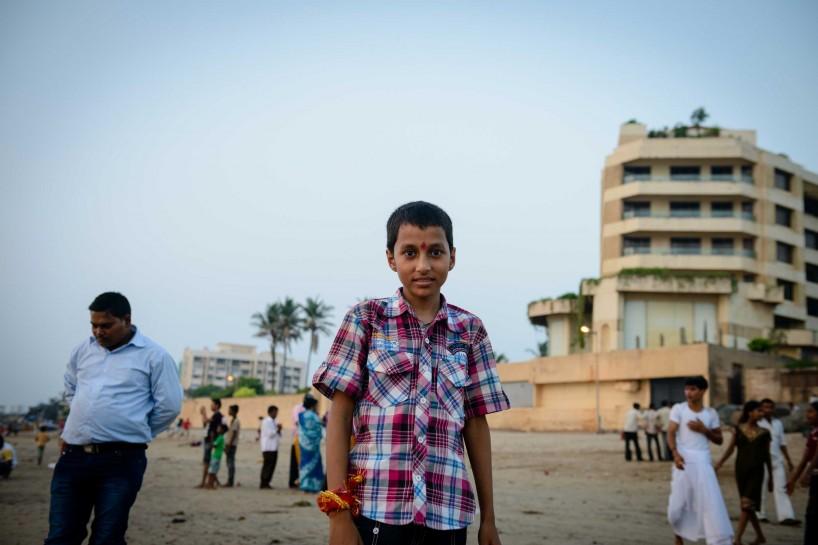 Oct 2012 : Mumbai Visit : Vijayadashami Festial Kids