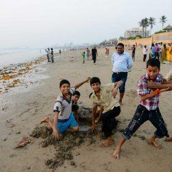 Oct 2012 : Mumbai Visit : Vijayadashami Festial Kids 2