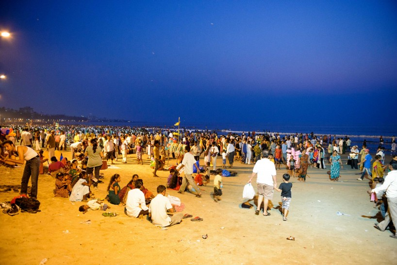 Oct 2012 : Mumbai Visit : Vijayadashami Festival twilight