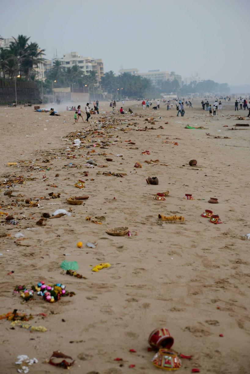 Oct 2012 : Mumbai Visit : Vijayadashami Festival aftermath 4