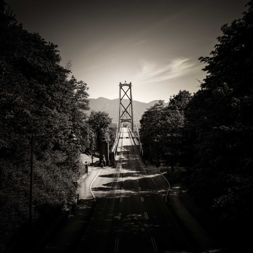 Slow Road To Squamish: Lions Gate Bridge