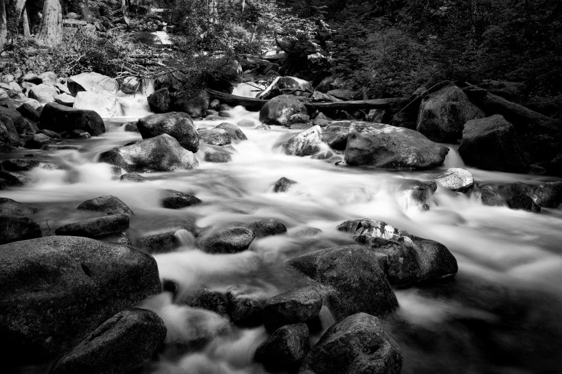Slow Road To Squamish: Creek near Shannon Falls