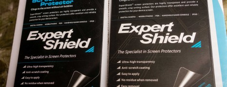 Expert Shield vs GGS Screen Protector for Nikon D800