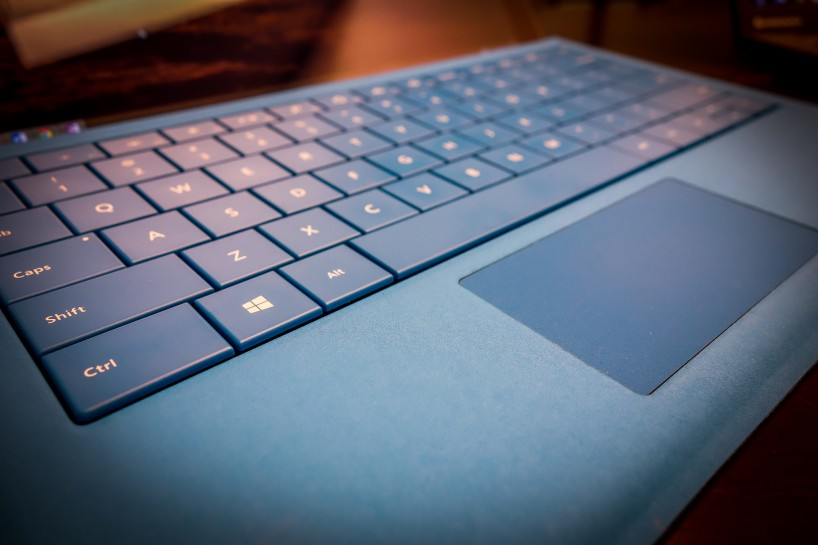 Microsoft Surface Pro 3 Type Cover Detail