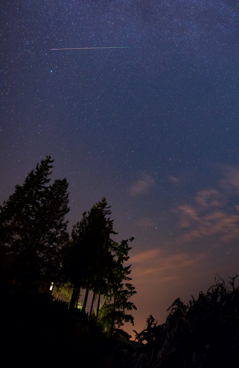 Perseid Meteor Shower 2015-08-13