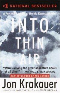 Into Thin Air – Jon Krakauer