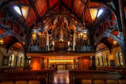 Organ at the Christ Church Cathedral, Vancouver, BC