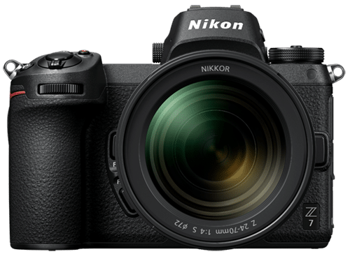 Nikon Z7 Full Frame Mirrorless Camera - Small