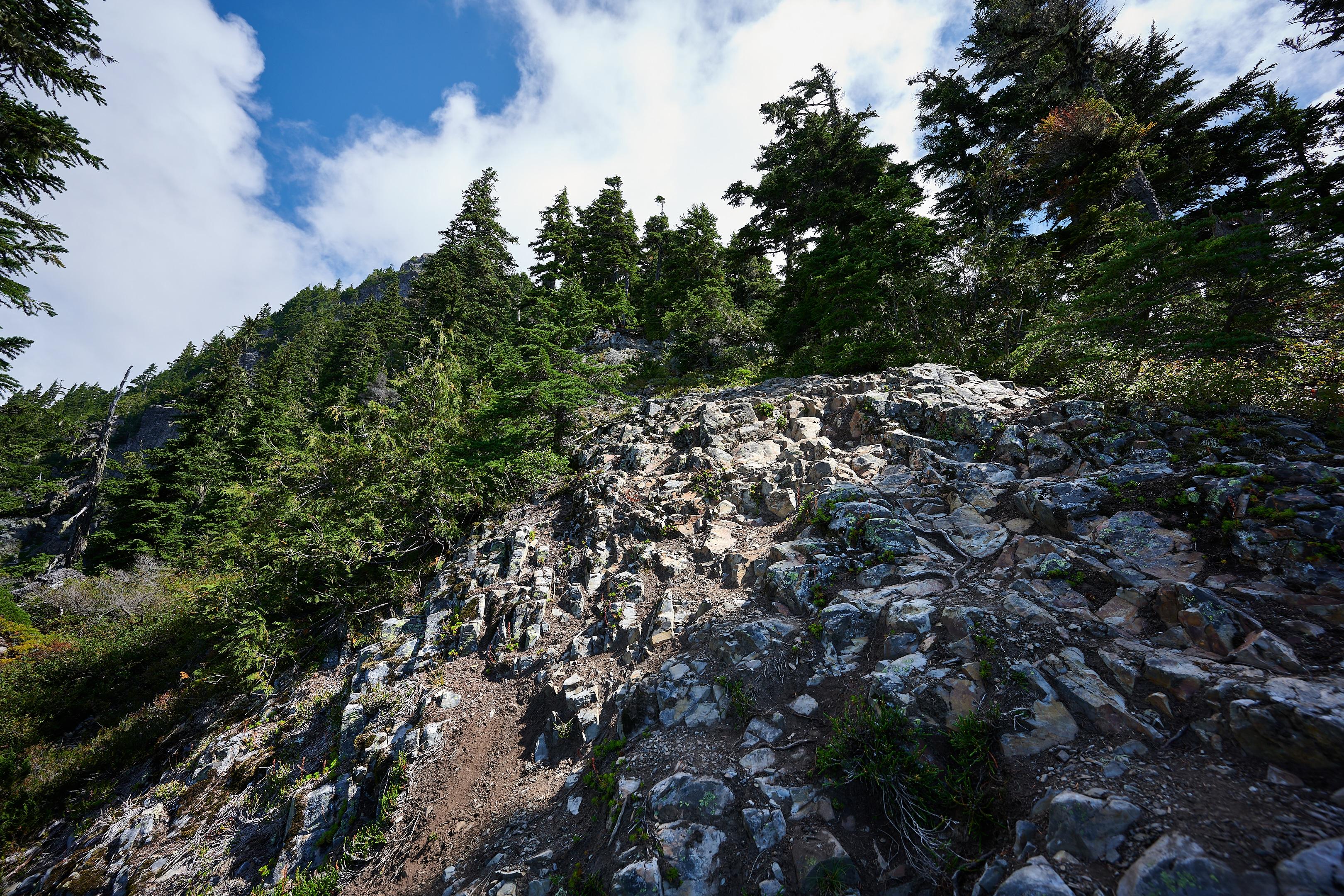 Hiking Brunswick Mountain 42