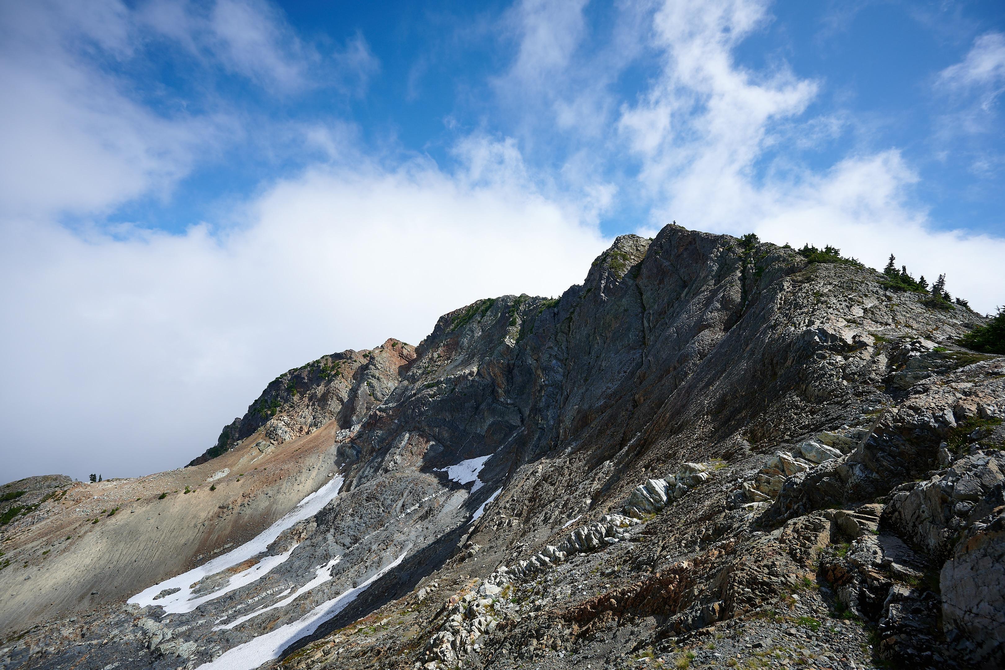 Hiking Brunswick Mountain 44
