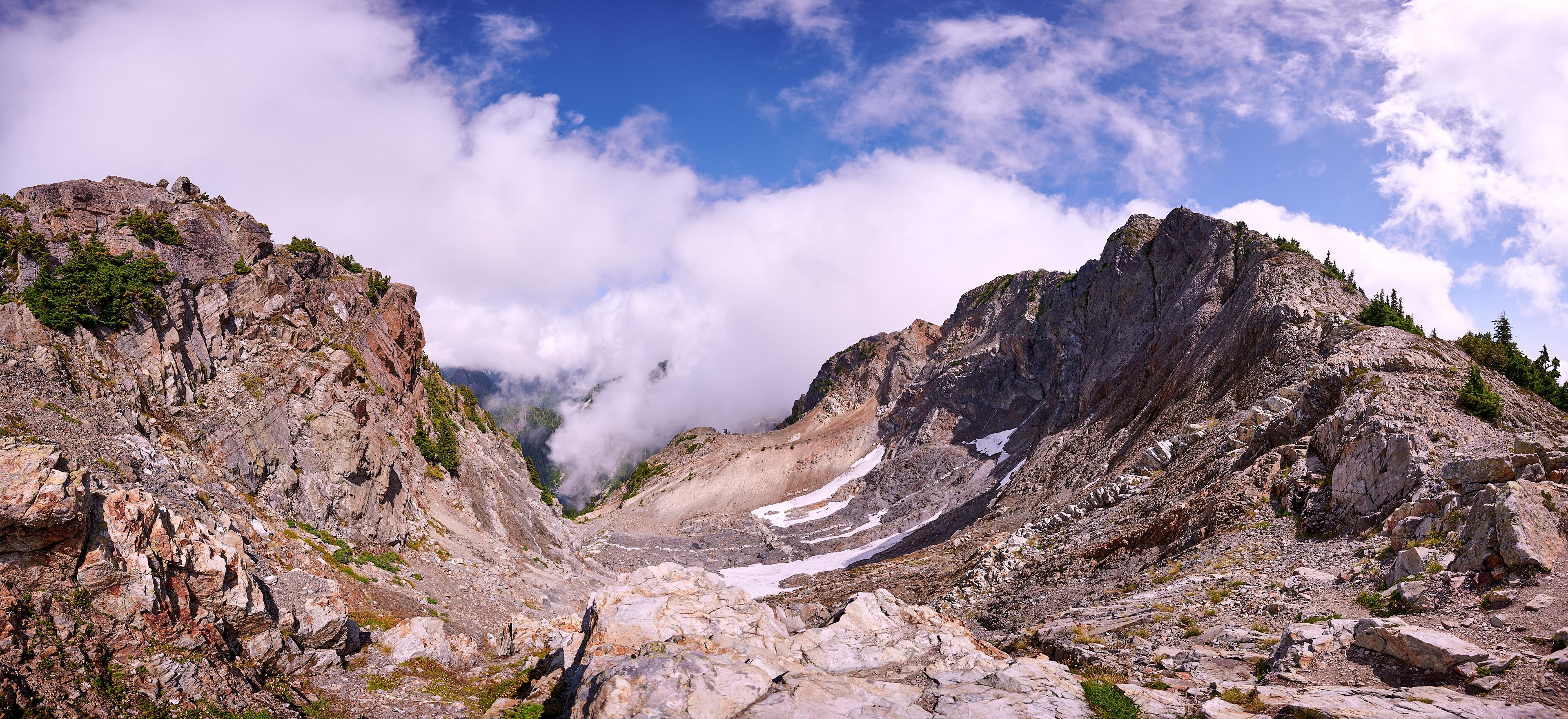 Hiking Brunswick Mountain 54