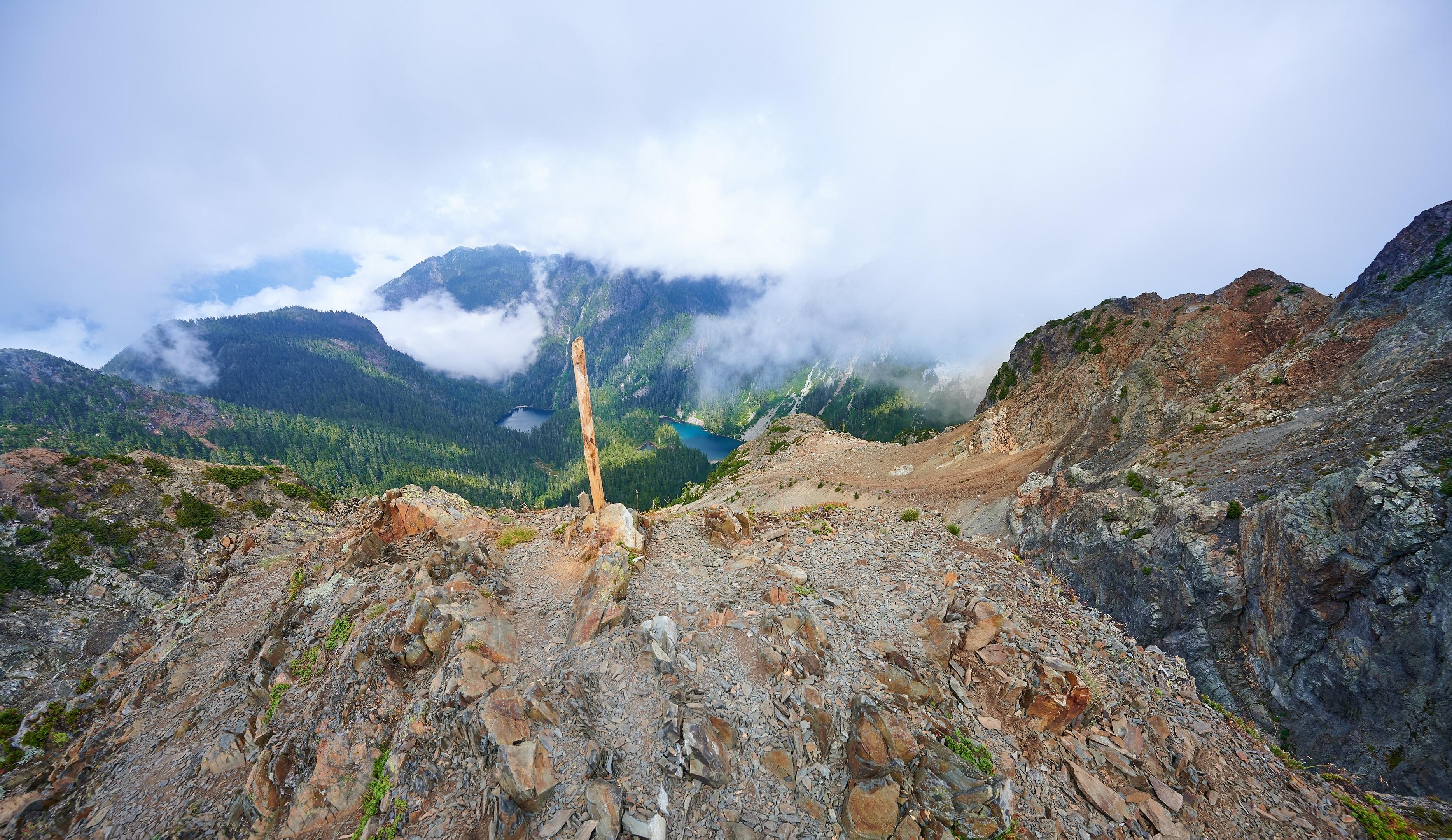 Hiking Brunswick Mountain 45
