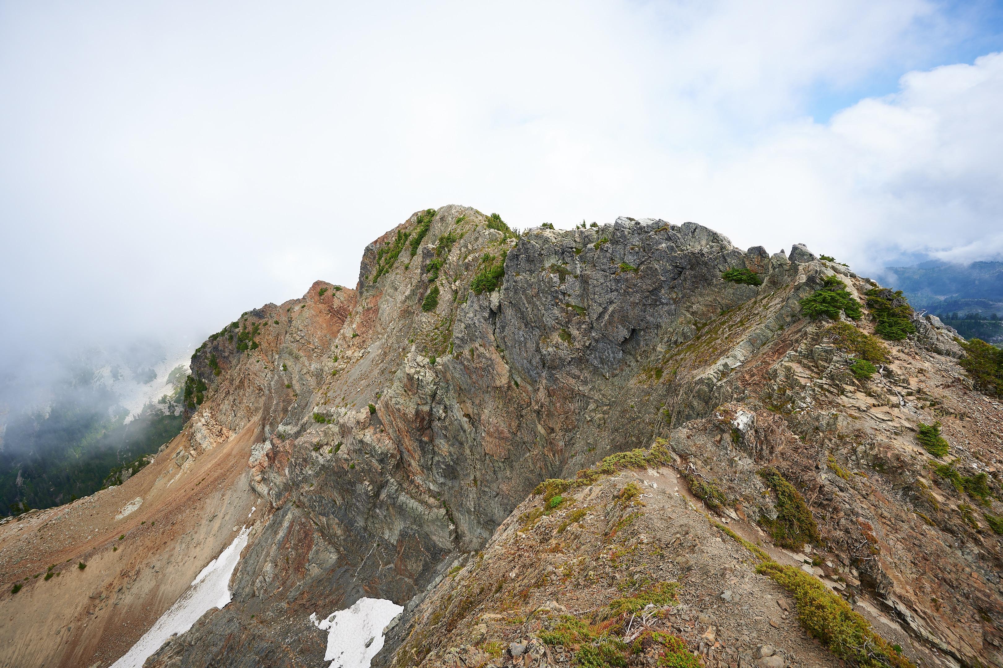 Hiking Brunswick Mountain 46