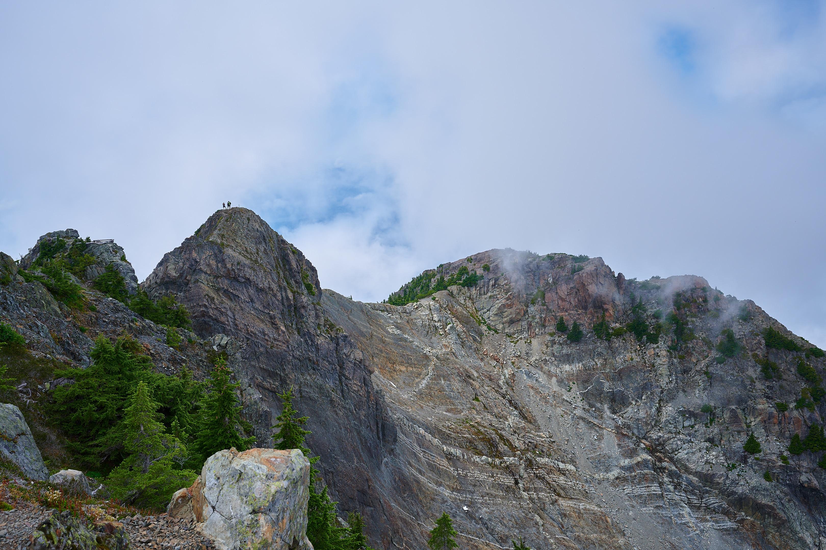 Hiking Brunswick Mountain 53