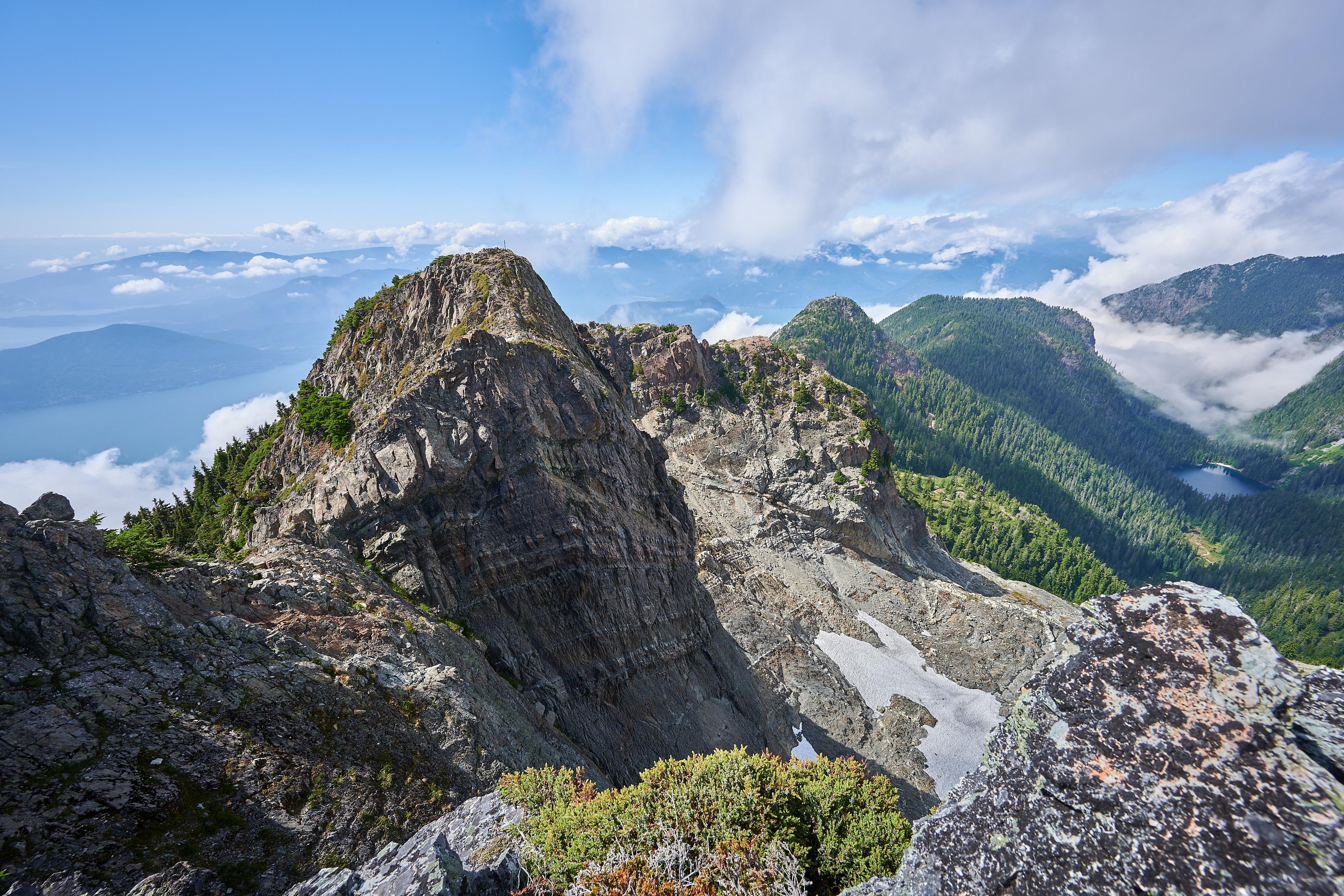 Hiking Brunswick Mountain 58