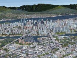 Vancouver 2021 - Google Maps 3D Image