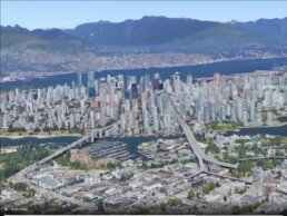 Vancouver Today - Google Earth
